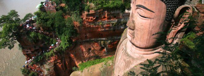 The Leshan Giant Buddha, Sichuan