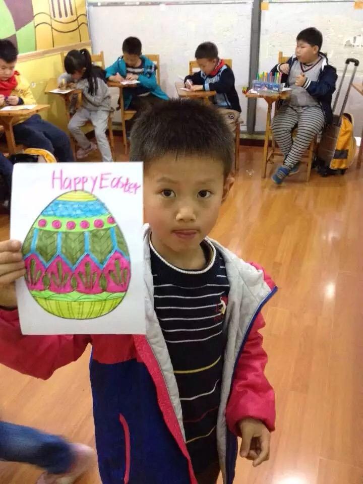 Bens class teaching in China