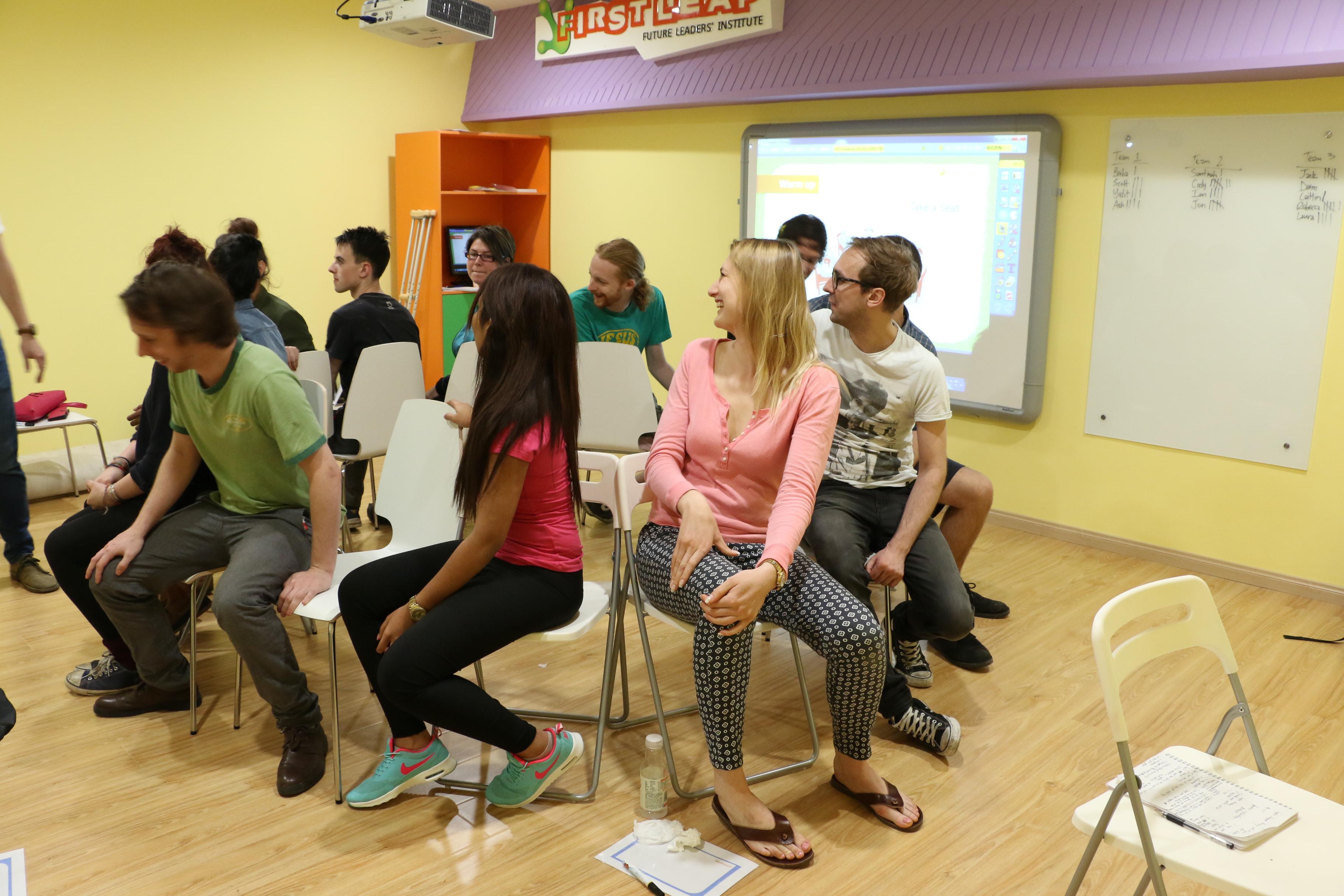 Teacher training First Leap