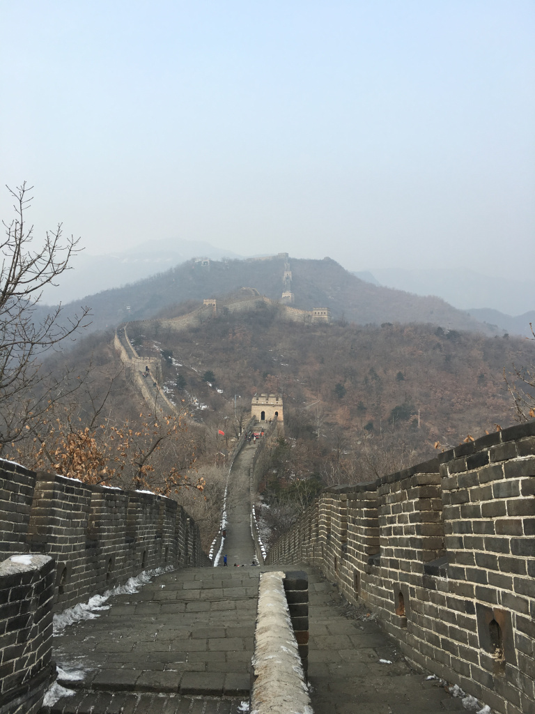 The Mutianyu Section Of The Wall Is 34 Miles Long And It