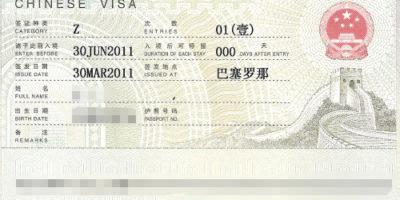 Visas | Opportunity China